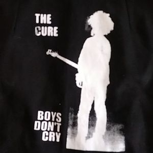 RAREVintage high waisted the cure boys dont cry